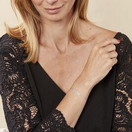 Bracelet Octavia Or Blanc Diamant - Bijoux Femme | Histoire d'Or
