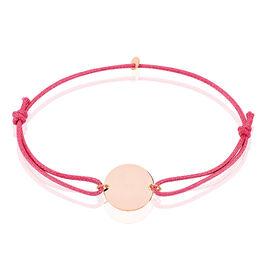 Bracelet Helenia Pastille Gravable Or Rose - Bracelets Naissance Enfant | Histoire d'Or