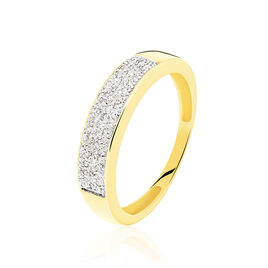 Bague Serafina Or Jaune Diamant - Bagues avec pierre Femme | Histoire d'Or