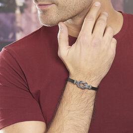 Bracelet Gerry Acier Blanc - Bracelets fantaisie Homme | Histoire d'Or