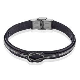 Bracelet Neo Acier Blanc - Bracelets fantaisie Homme | Histoire d'Or