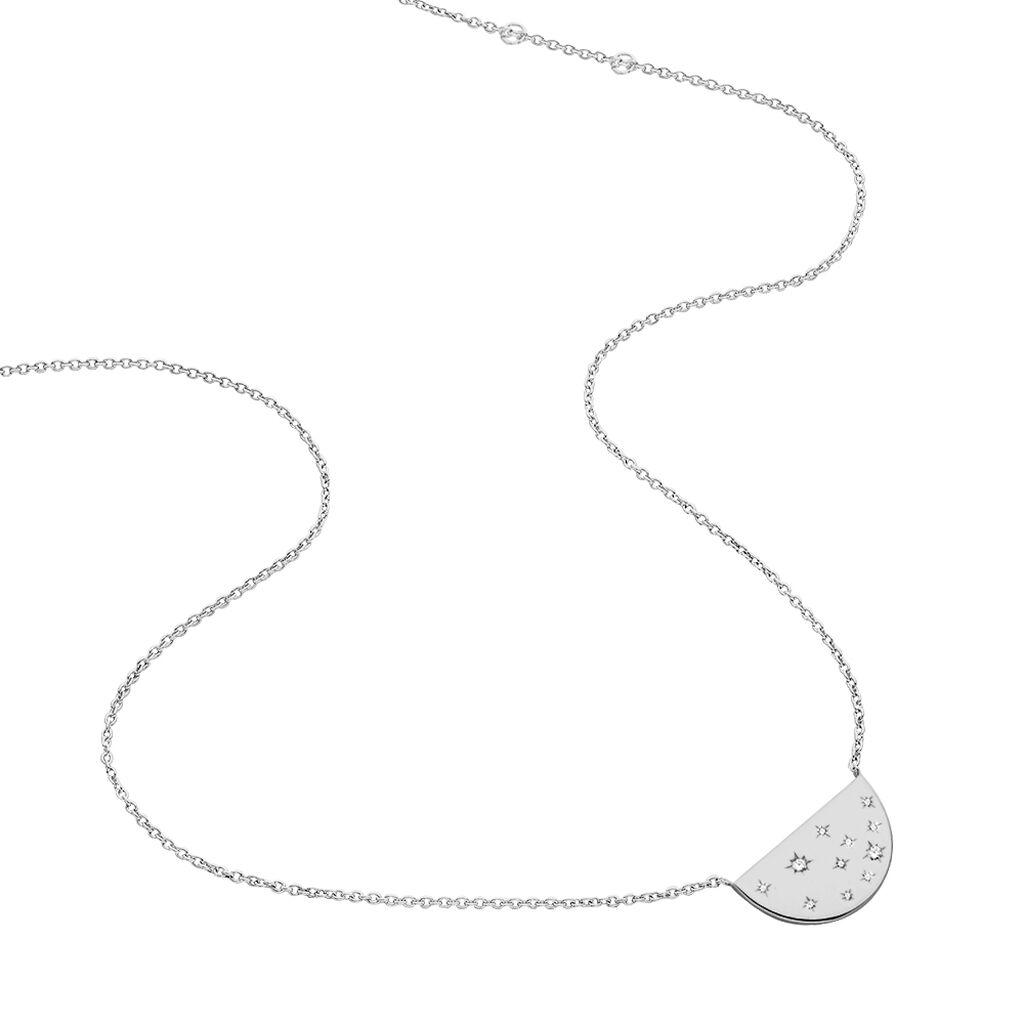 Collier Firma Argent Blanc Oxyde De Zirconium - Colliers fantaisie Femme | Histoire d'Or