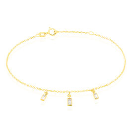 Bracelet Ginna Or Jaune Oxyde De Zirconium - Bijoux Femme | Histoire d'Or