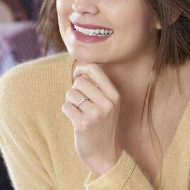 Bague Solitaire Dayna Or Rose Oxyde De Zirconium - Bagues solitaires Femme | Histoire d'Or