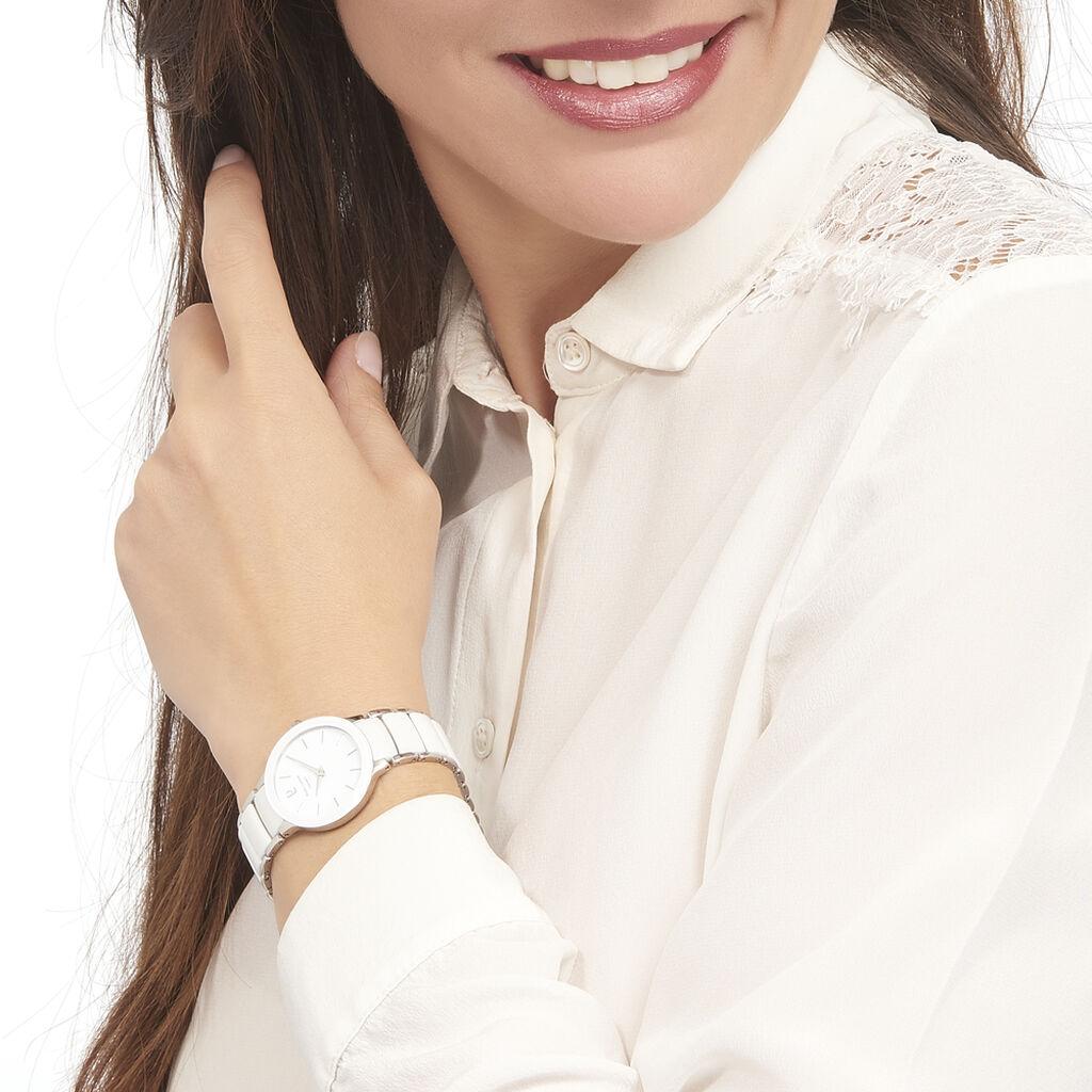 Montre Pierre Lannier Elegance Ceramique Blanc - Montres tendances Femme   Histoire d'Or
