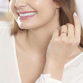 Bague Ruthe Or Bicolore Diamant - Bagues avec pierre Femme | Histoire d'Or