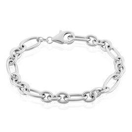 Bracelet Camiorica Argent Blanc - Bracelets chaîne Femme | Histoire d'Or