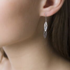 Boucles D'oreilles Or  - Boucles d'Oreilles Plume Femme | Histoire d'Or