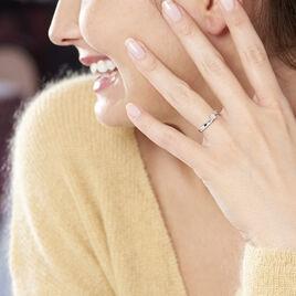 Bague Callysta Or Blanc Diamant - Bagues avec pierre Femme | Histoire d'Or