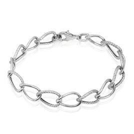 Bracelet Christia Argent Blanc - Bracelets fantaisie Femme | Histoire d'Or