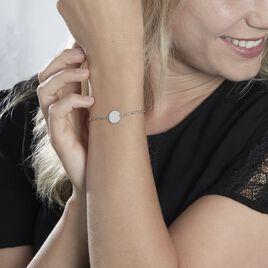 Bracelet Enoah Argent Blanc - Bracelets fantaisie Femme | Histoire d'Or