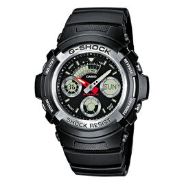 Montre Casio G-shock Black & Red Noir - Montres sport Homme | Histoire d'Or