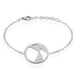 Bracelet Acier Blanc - Bracelets fantaisie Femme   Histoire d'Or