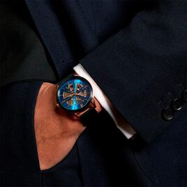 Montre Montignac Bleu - Montres Homme   Histoire d'Or