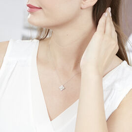 Collier Aelai Or Blanc Diamant - Bijoux Femme | Histoire d'Or