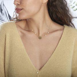 Collier Jannila Or Jaune Perle De Culture - Bijoux Femme   Histoire d'Or