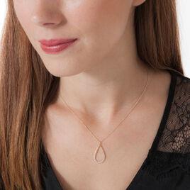 Collier Betina Or Jaune Goutte Diamants - Sautoirs Femme | Histoire d'Or