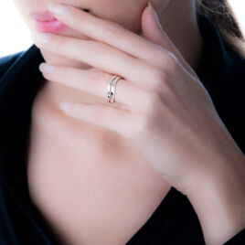 Bague Helora Or Jaune Diamant - Bagues avec pierre Femme | Histoire d'Or