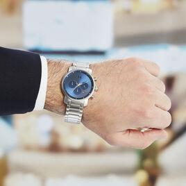 Montre Mvmt Chrono Bleu - Montres Homme | Histoire d'Or