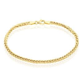 Bracelet Jolien Maille Spiga Or Jaune - Bracelets chaîne Femme | Histoire d'Or