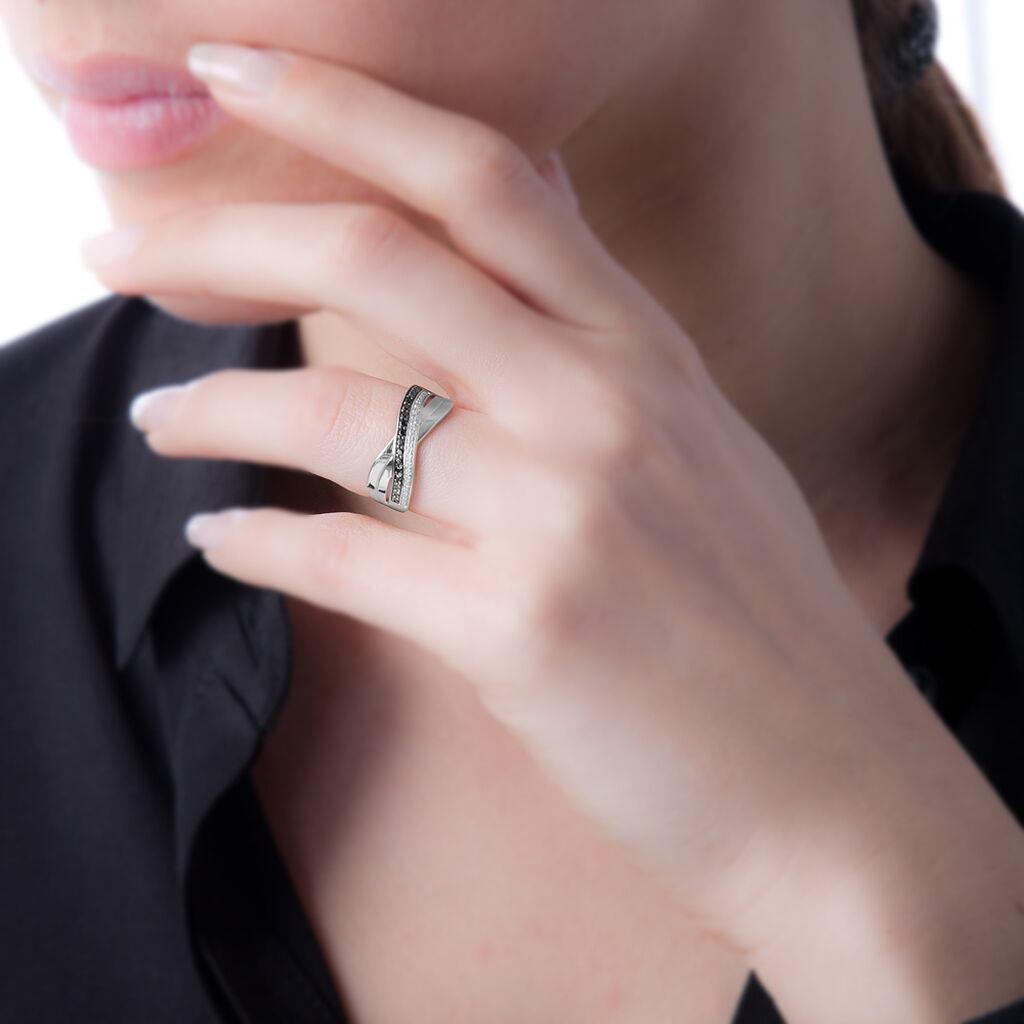 Bague Martika Or Blanc Diamant - Bagues avec pierre Femme | Histoire d'Or