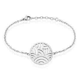 Bracelet Vagua Acier Blanc - Bracelets fantaisie Femme | Histoire d'Or