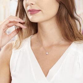 Collier Cherice Argent Blanc Oxyde De Zirconium - Colliers fantaisie Femme | Histoire d'Or
