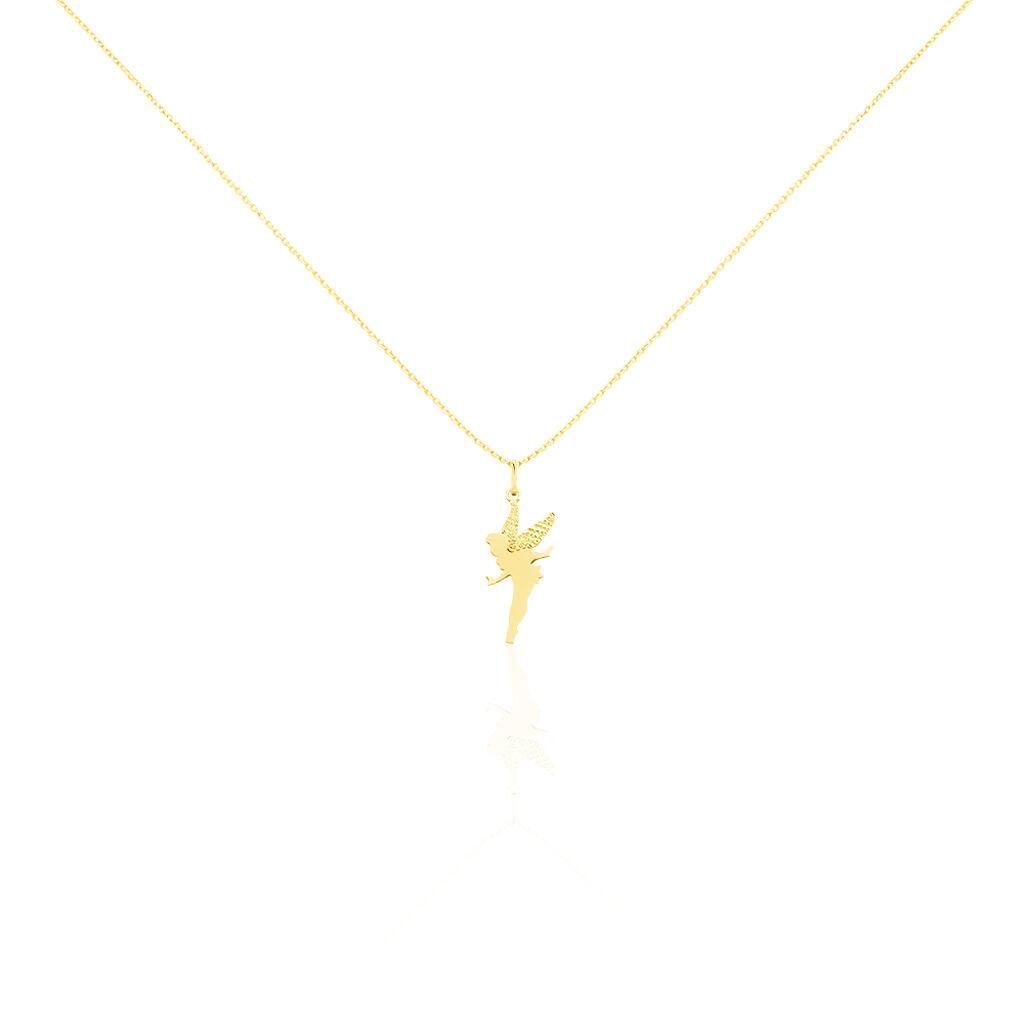 Collier Fee Or Jaune - Bijoux Femme | Histoire d'Or