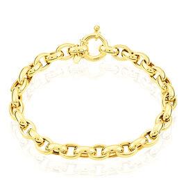 Bracelet Jodie Maille Jaseron Or Jaune - Bracelets chaîne Femme | Histoire d'Or