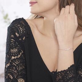 Collier Hivana Argent Blanc Oxyde De Zirconium - Bijoux Femme   Histoire d'Or