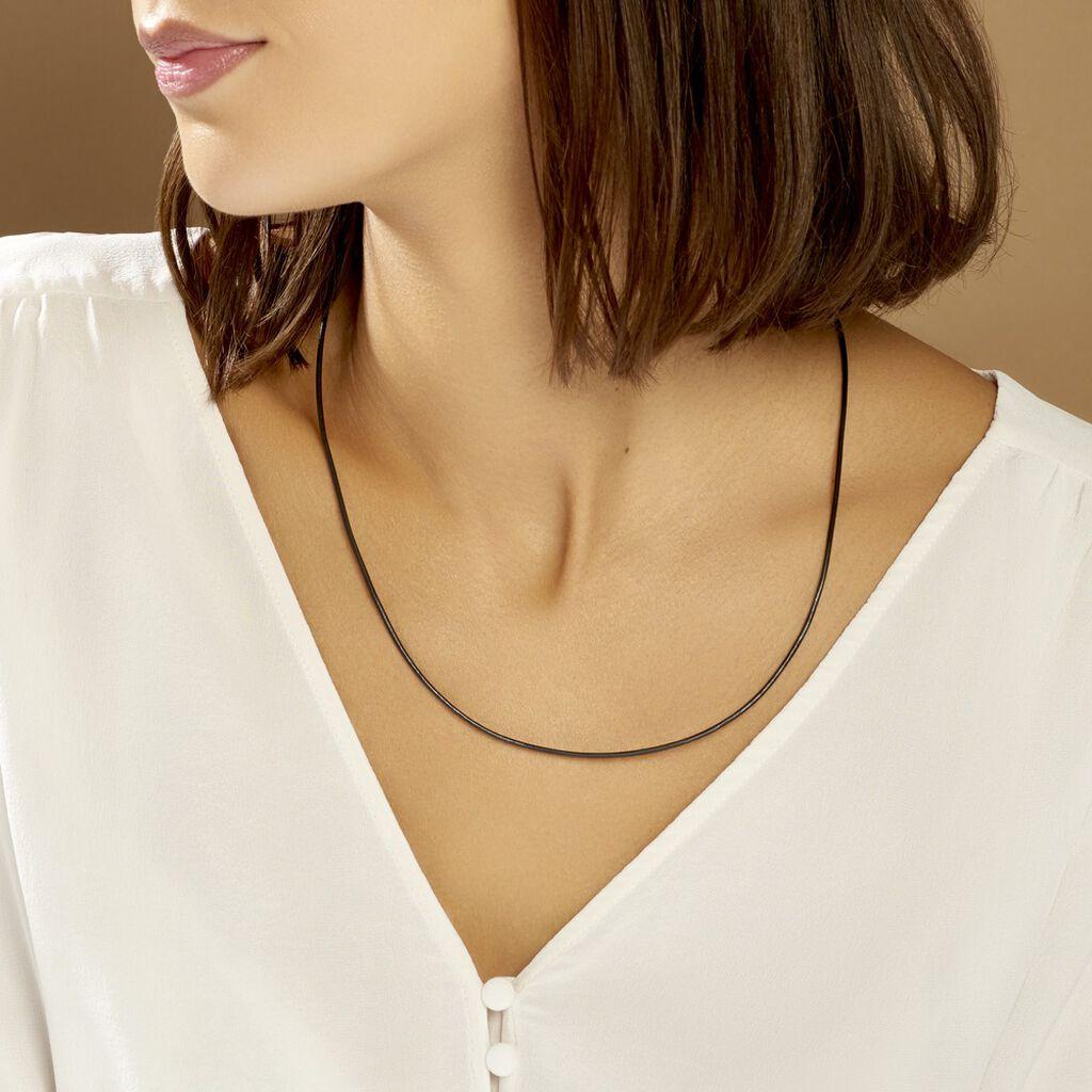 Collier Ireneeae Argent Blanc - Colliers fantaisie Femme   Histoire d'Or