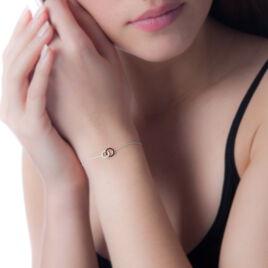 Bracelet Bella Or Blanc Diamant - Bijoux Femme | Histoire d'Or