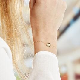 Bracelet Or Jaune Ange Pastille Etoile - Bijoux Etoile Femme | Histoire d'Or