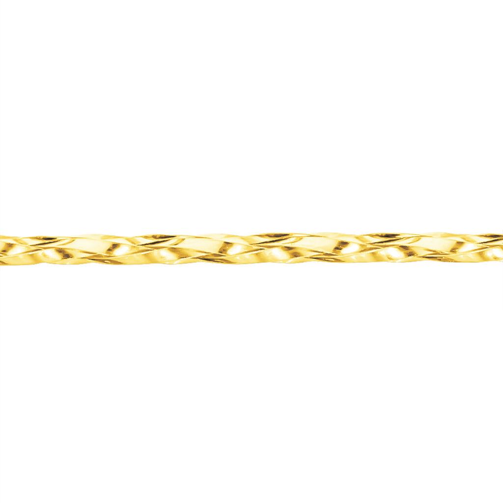 Collier Jonah Cable Fin Or Jaune - Bijoux Femme | Histoire d'Or