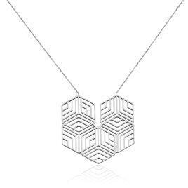 Collier Acier Motif Geometrique - Colliers fantaisie Femme | Histoire d'Or