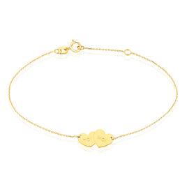 Bracelet Teanna Or Jaune - Bracelets Coeur Femme | Histoire d'Or