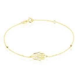 Bracelet Meryne Or Jaune - Bracelets Main de Fatma Femme | Histoire d'Or