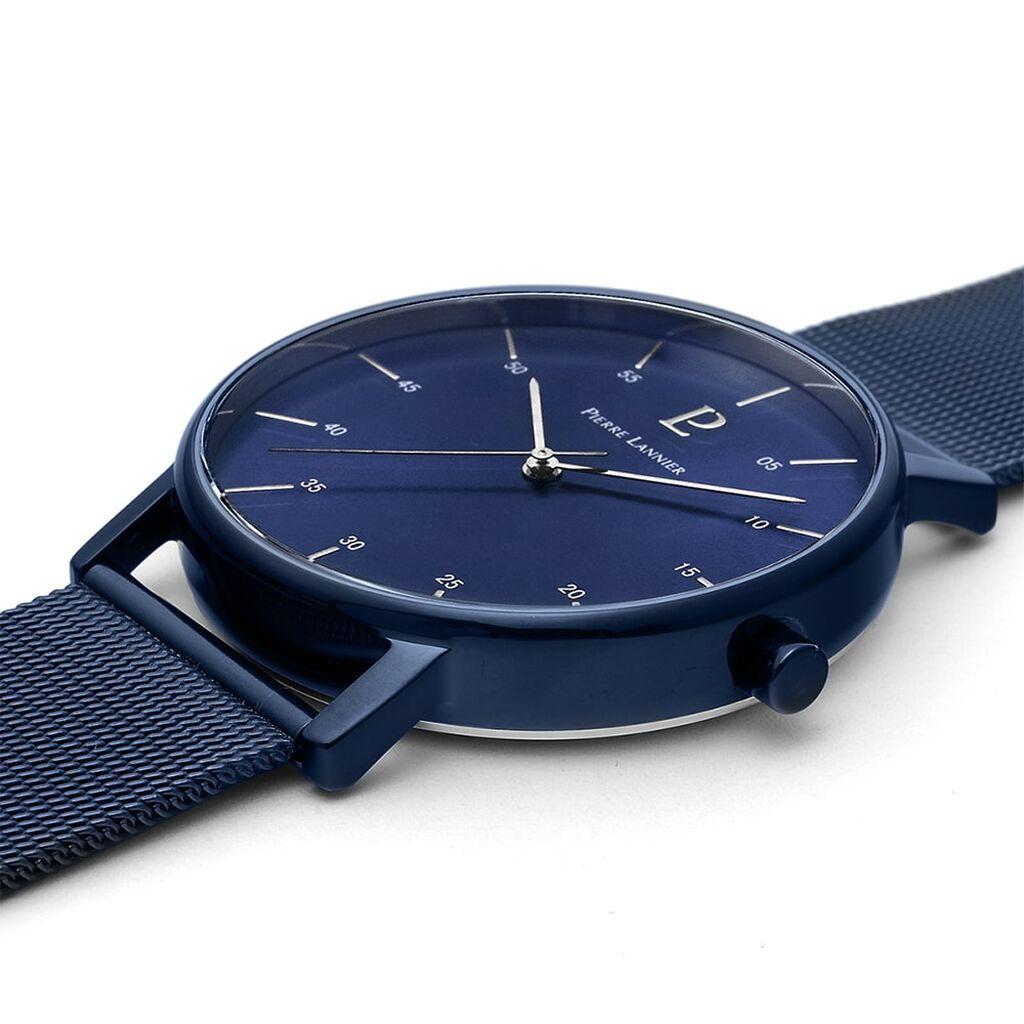 Montre Pierre Lannier Collection Cityline Bleu - Montres tendances Homme | Histoire d'Or