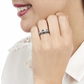 Bague Virginie Or Blanc Diamant - Bagues avec pierre Femme   Histoire d'Or