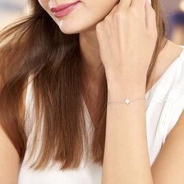 Bracelet Speranza Argent Blanc Oxyde De Zirconium - Bijoux Etoile Femme | Histoire d'Or