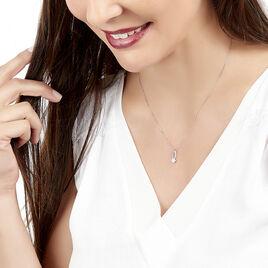 Collier Kuta Or Blanc Diamant - Bijoux Femme | Histoire d'Or