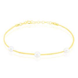Bracelet Friea Or Jaune Perle De Culture - Bijoux Femme   Histoire d'Or