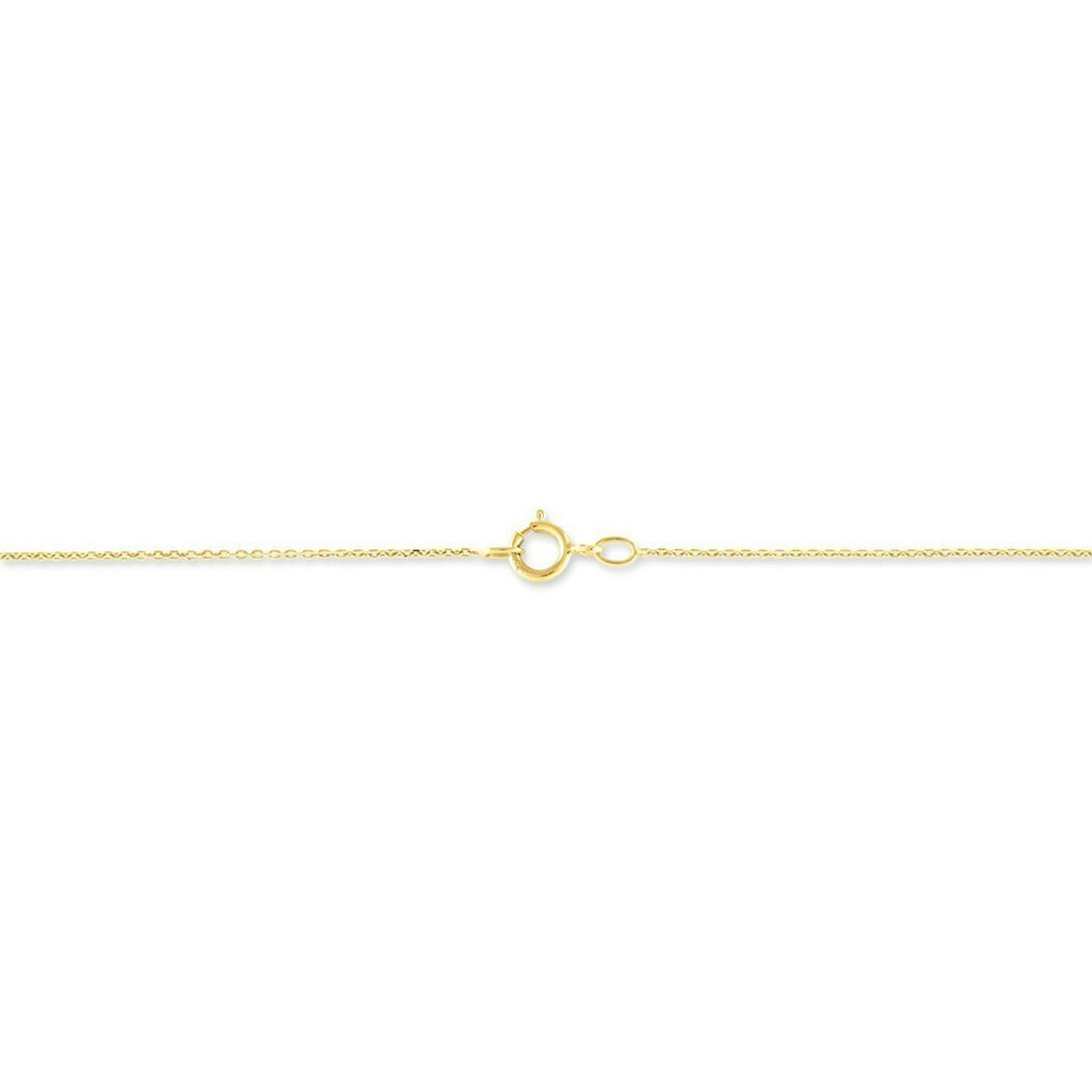 Collier Caline Or Jaune Diamant - Colliers Plume Femme | Histoire d'Or