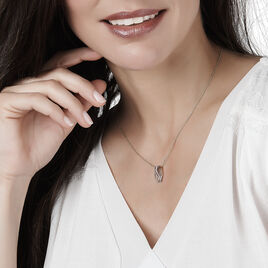 Collier Paige Or Bicolore Diamant - Bijoux Femme | Histoire d'Or