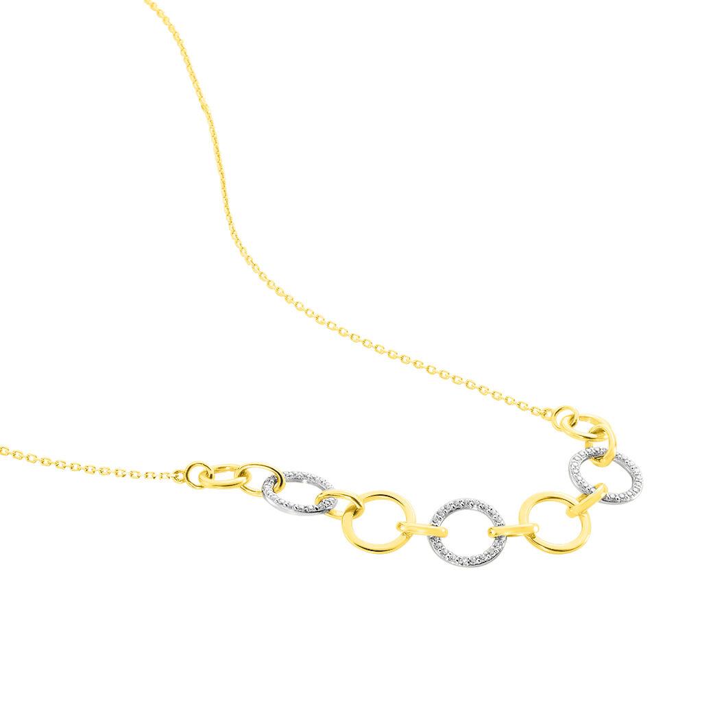 Collier Or Jaune Lutzele Oxyde - Bijoux Femme   Histoire d'Or