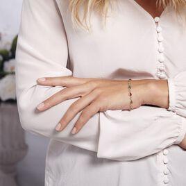 Bracelet Weronika Argent Blanc Ambre - Bijoux Femme | Histoire d'Or