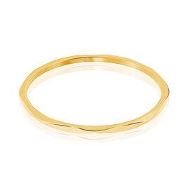 Bracelet Jonc Livya Acier Jaune - Bracelets fantaisie Femme   Histoire d'Or