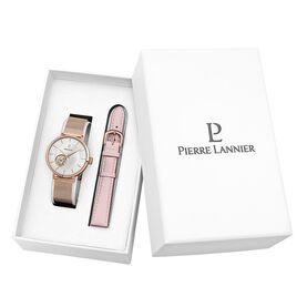 Coffret de montre Pierre Lannier Automatic Argenté - Montres Femme | Histoire d'Or