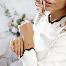Bracelet Volcania Or Jaune Diamant - Bijoux Femme   Histoire d'Or