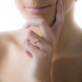 Bague Veroucha Or Jaune Topaze - Bagues solitaires Femme | Histoire d'Or